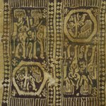 Textile Panel with Four Figural Vignettes