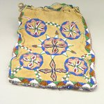 Beaded Bag with Drawstring