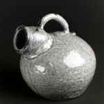 Vessel with Wide Mouth and Spout, Yue Ware