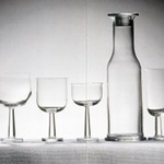 "Glass for White and Rosé Wine, ""Ginevra"" Pattern, Model TCES 1/2"