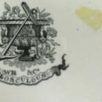 Plate, Flosculous Pattern