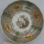 Cup and Saucer, Priory Pattern