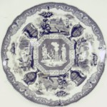 Plate, Antiques Pattern
