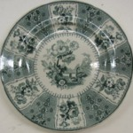 Plate, Eastern Plants Pattern
