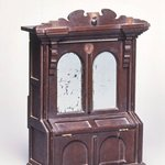 Salesmans Sample of a Parlor Cabinet/Bed
