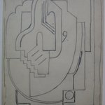 Sketch for Abstract Composition