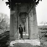 Three Boys Under an Aqueduct, Staten Island, NY