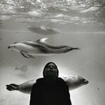 Girl in Aquarium, SF