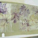Starr Leaf Oversize Kimono Panel