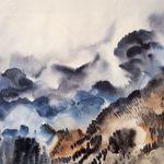 Rocky Mountain Landscape I