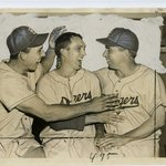 [Untitled] (Gil Hodges, Carl Erskine and Pee Wee Reese)