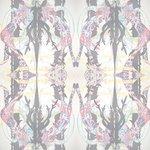 "Wallpaper, ""Stag Hunt"" Pattern"