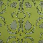 "Wallpaper, ""Dandelion Creatures"" Pattern"