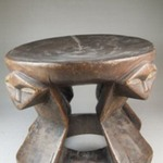 Stool with Caryatid Figures