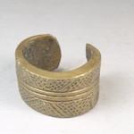 Cast Engraved Bracelet
