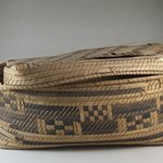 Oblong Plaited Basket