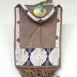 Beaded and Fringed Bag