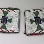 Pair of Beaded Cuffs