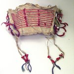 Beaded and Quilled Bag