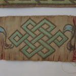 One of a Pair of Temple Banners