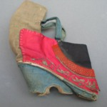 Shoe for a Womans Bound Feet