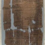 Fragment of Wilbour Papyrus