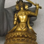Small Lamaist Figure of Manjusri