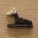 Inlay Representing a Recumbent Jackal