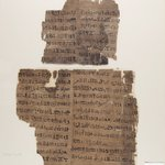 Fragments of Papyrus from the Book of the Dead