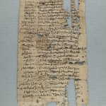 Oblong Strip of Papyrus
