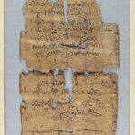 Small Fragmentary Piece of Papyrus