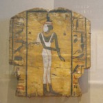Coffin Fragment Showing Mourning Isis