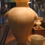 Amphora with Two Handles and Separate Base