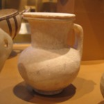Egyptian Jug and Lid Based on Cypriot Bilbil