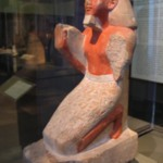 Kneeling Statue of the Scribe and Treasurer Sety