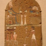 Stela with Amun-Re and a Gander