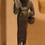 Small Figurine of the Goddess Bast