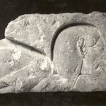 Wall Relief Fragment - Man Head