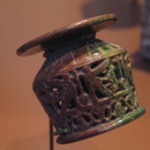 Kohl Pot with Openwork Decoration