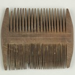Large Comb with Fine Teeth on One Side and Coarse Teeth on the Other