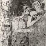 Woman, Man, Servant (Frau, Mann, Diener)