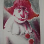 Clown with Red Cap
