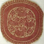 Small Roundel in Tapestry Weave