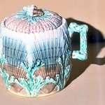 Sugarbowl, Majolica