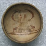 Small Bowl with Image of Church on Interior