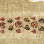 Fragment of Border with Tapestry Woven Design