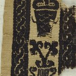 Two Fragments of a Tapestry Border