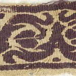 Small Fragment of Tapestry Woven Border