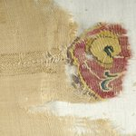 Fragment of Cloth with Inwoven Tapestry Ornaments