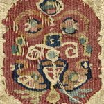 Fragment of Linen Band with Tapestry Woven Insert